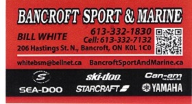 Bancroft Sport and Marine Logo