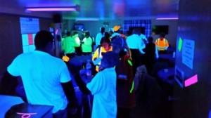 Club House Glows